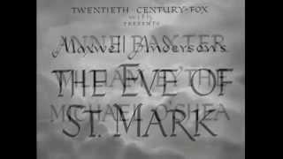 22-05-1944 - A Véspera de São Marcos - The eve of St. Mark - abertura do filme BR