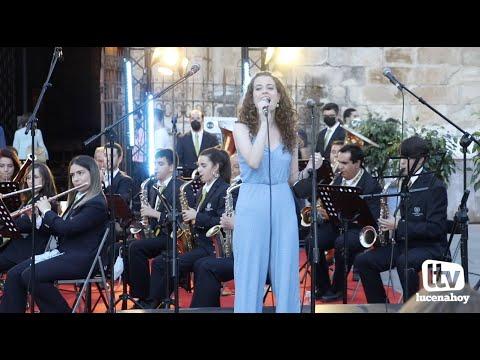 VÍDEO: Algunos momentos del Concierto Aracelitano de la Banda de Música y la EMMD de Lucena en la Plaza Nueva