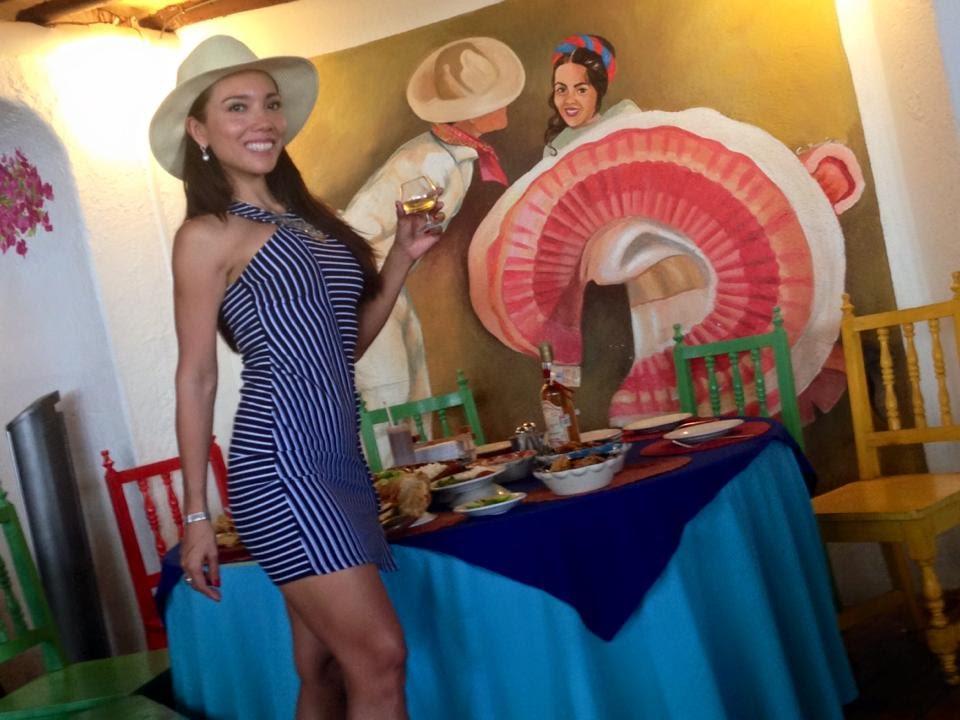Restaurante El Jaguar en Acapulco con Denisse Wolf, delicioso