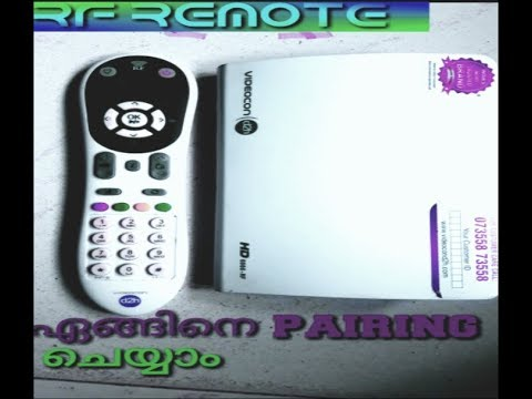 Videocon D2H how to pairing RF Remote, pairing simple and easy in (6666HD)