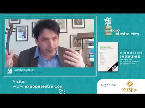 """Presentación del libro """"El derecho y sus construcciones"""" (Palestra Editores, 2020)"""