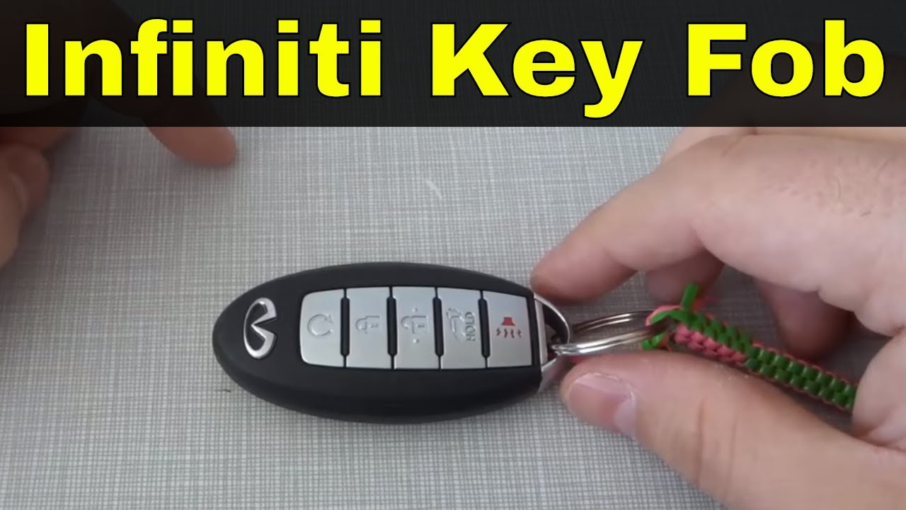 How To Change An Infiniti Key Fob Battery Tutorial Youtube