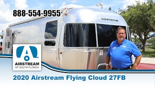 Airstream 2020 Flying Cloud 27FB Travel Trailer
