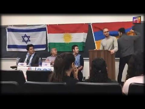 Free Speech?! Activist Students Shutdown UCLA Speech  Armenian Students