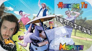 Reacting to Misfits they made fortnite golf carts into a real thing!