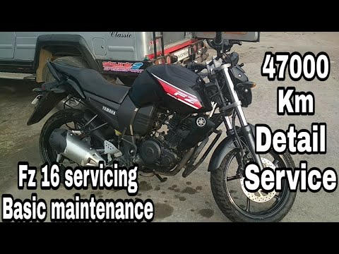 Fz Detail service Basic maintenance