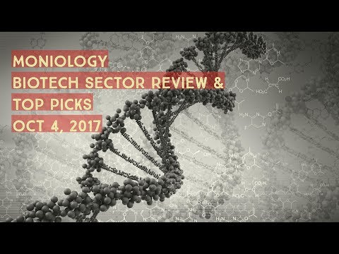 Moniology Biotech Sector Watchlist Oct 4, 2017