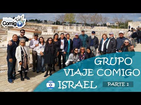GRUPO De VIAGEM Para ISRAEL  | Parte 1 | Bom De Bíblia | PROGRAMA Viaje Comigo