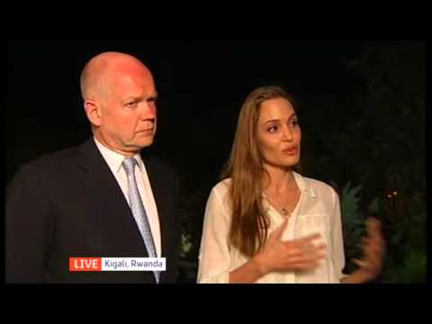 Angelina Jolie and the quest to end warzone sexual violence