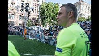 Віталій та Володимир Клички взяли участь у Турнірі чемпіонів зірок Ліги чемпіонів УЄФА