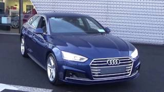 For further information on this stunning new audi a5 sportback 2.0tdi finsihed in scuba blue metallic with a rock grey leatrher/cloth interior please cal our...