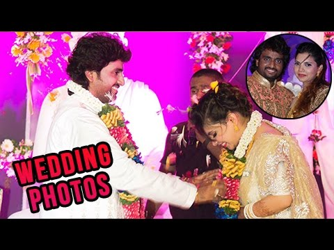 Singer Adarsh Shinde Wedding Reception Photos | Marathi Entertainment
