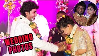 Singer Adarsh Shinde Wedding Reception Photos | Marathi Entertainment
