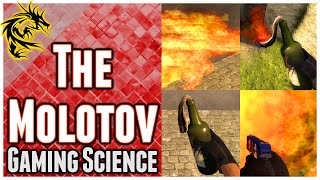 How to use the Molotov in CS:GO - Flexible, fiery Hell in a Bottle (Gaming Science)