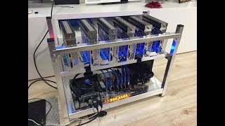 Ethereum mining 6x Nvidia GTX 1050TI (74Mh/s)