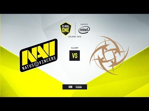 Na`Vi vs. NiP - ESL One: Cologne 2019 - map1 - de_inferno [MintGod & сeh9]