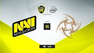 Na`Vi vs. NiP - ESL One: Cologne 2019 - map1 - de_inferno [MintGod & сeh9]
