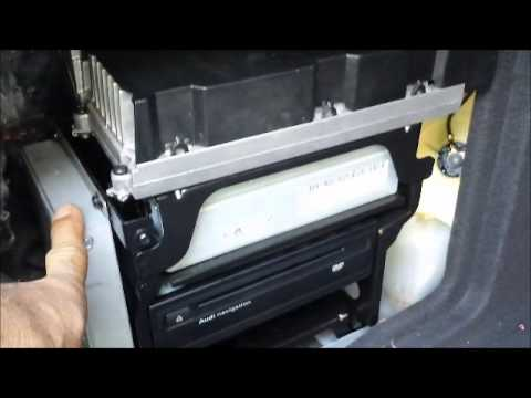 How to Remove Amplifier / Navigation / Tuner from 2008 Audi A6 for Repair.