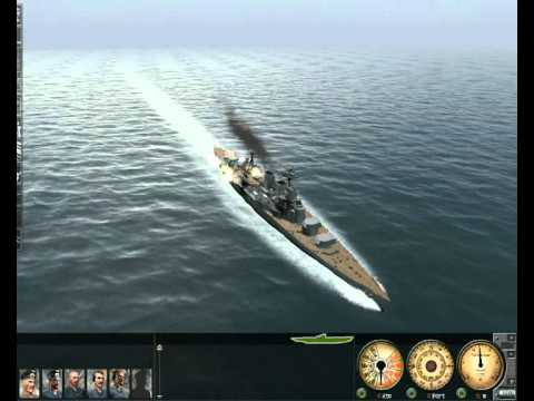 Silent Hunter 3 Requested Video: HMS Hood vs. IJN Hiei