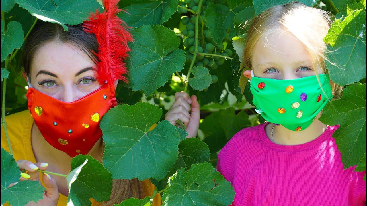 Марго и история про маски Шьёт красивые маски
