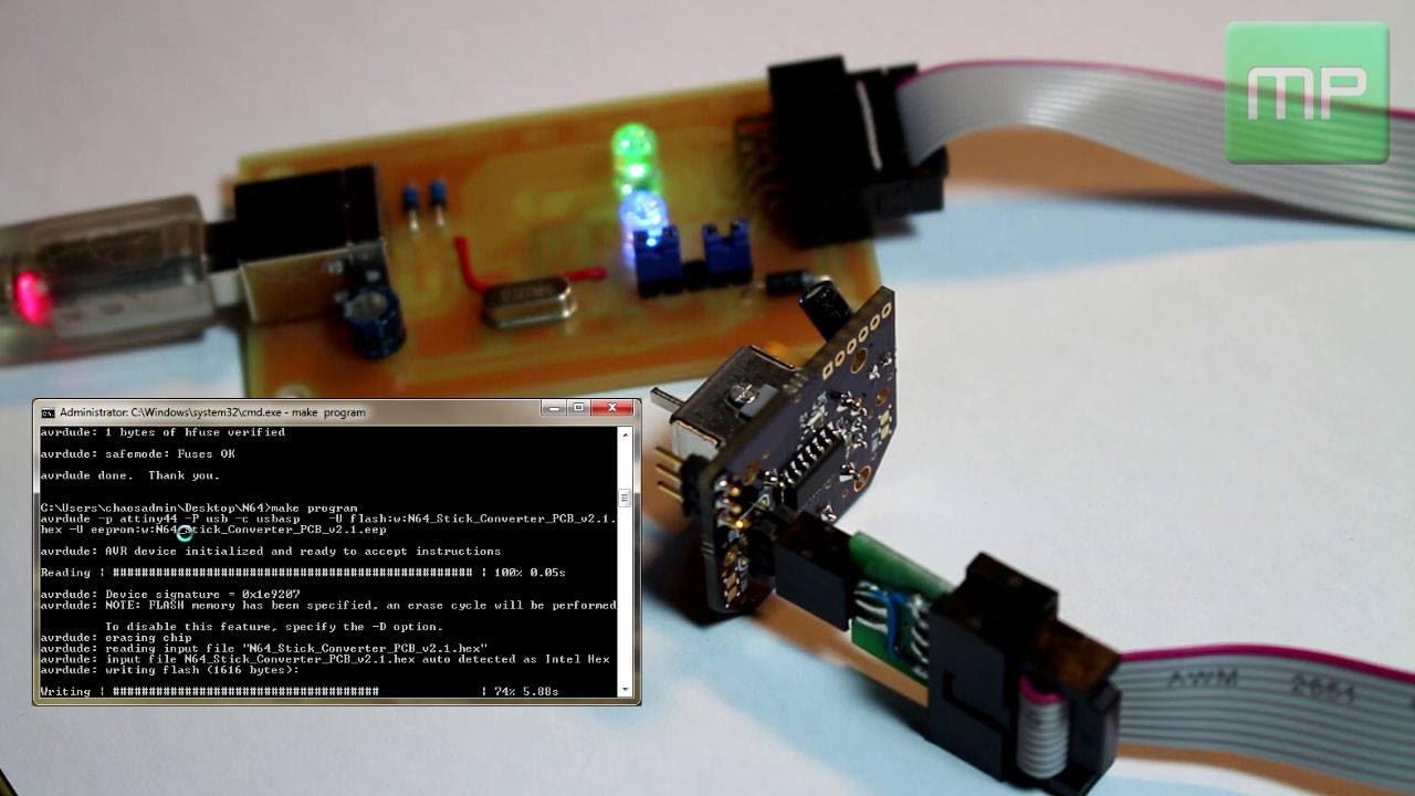 N64 Analog Ersatz-Stick (Gamecube-Style replacement