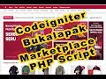 Gambar cover Free gratis download & How to install Bukalapak marketplace clone codeigniter PHP scripts