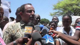 Proposed construction of multi billion housing scheme in Mombasa met with protests