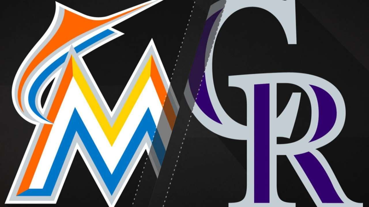 Gray, offense lift Rockies over Marlins: 6/22/18