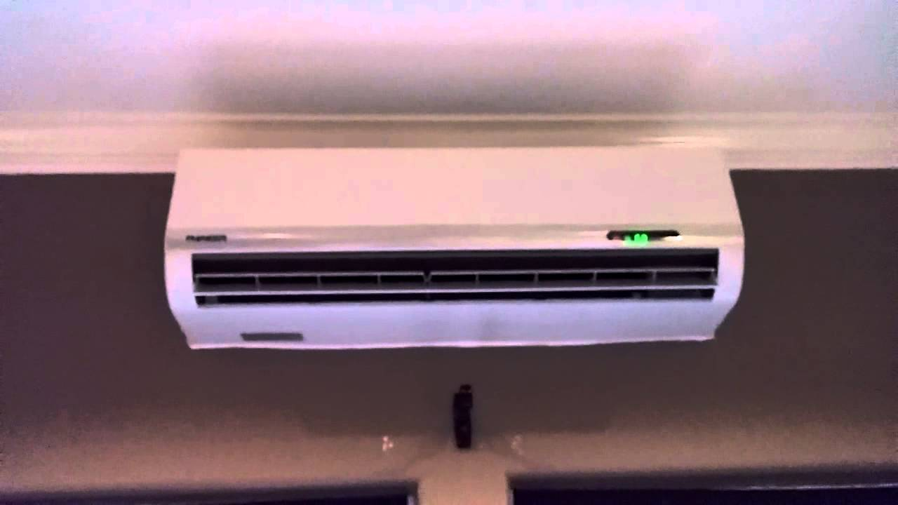 Small Bedroom Air Conditioner Pioneer Ductless Mini Split Ac 12000btu Review Youtube