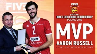 Aaron Russell | MVP FIVB Club World Championship 2018