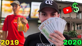 How I Went From a McDonald's Worker to a Full-Time YouTuber!