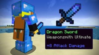 Dragon sword is kinda good