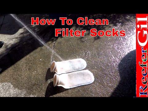 How To Easily Clean Aquarium Filter Socks