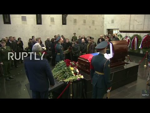 LIVE: Farewell ceremony for Vitali Churkin takes place at Moscow's Central Clinic Hospital