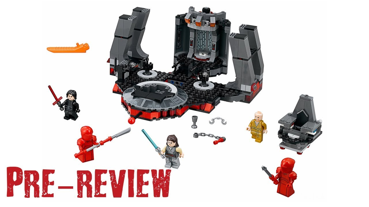 [Pre-Review] LEGO Star Wars - Set 75216 Snoke's Throne Room