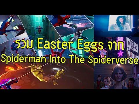 รวม Easter Eggs จาก Spiderman Into The Spider Verse! - Comic World Daily