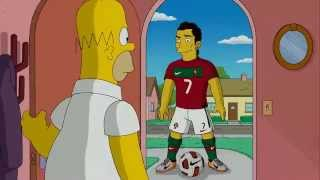 Download Nike Write The Future Homer Simpson VS Cristiano Ronaldo   HD 1080p 360p MP3 song and Music Video