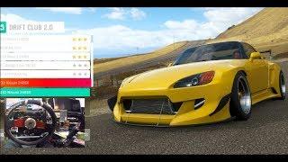 Forza Horizon 4 GoPro Drift Club 2.0 Story- Widebody Honda S2k (Fortune Island)    SLAPTrain