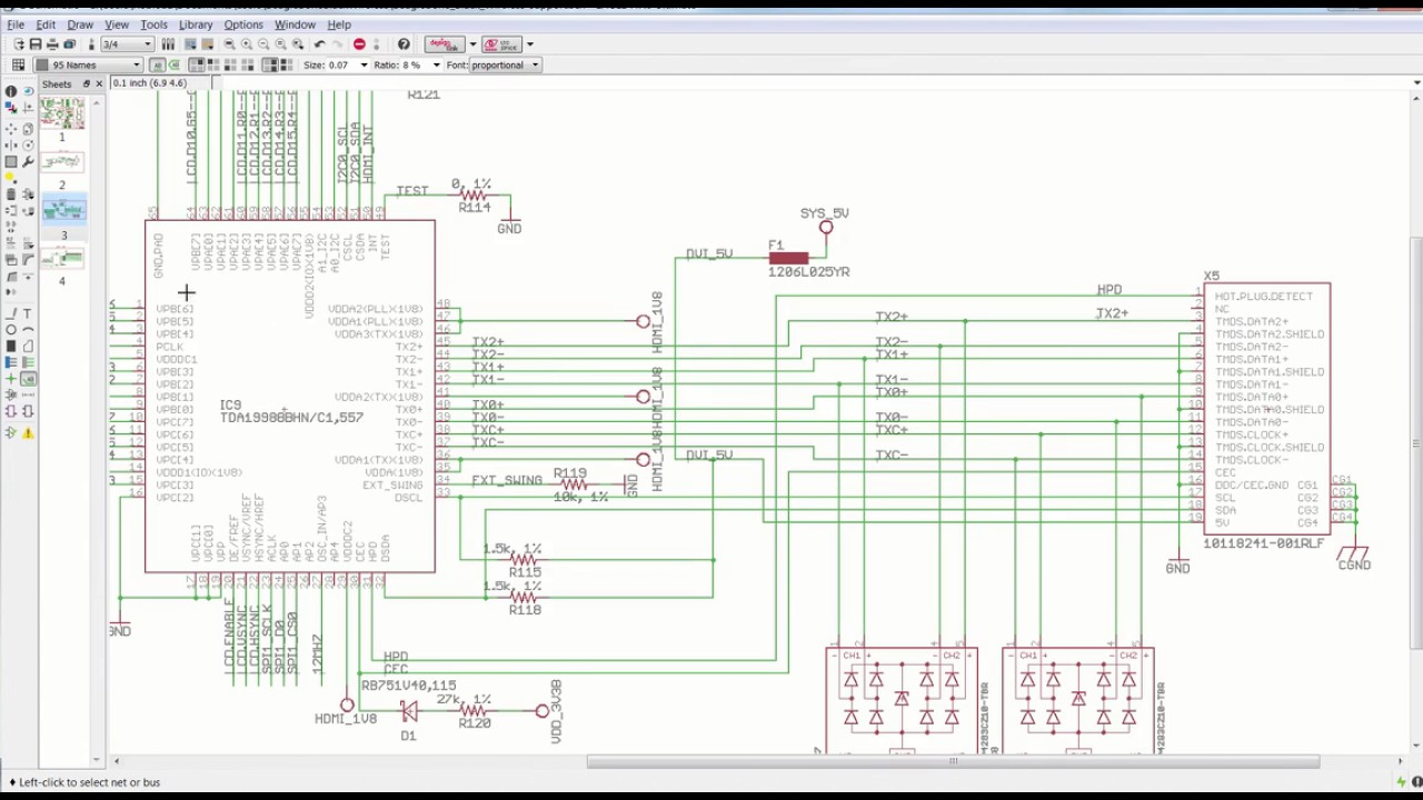 Autodesk Eagle - Easy to use schematic editor - YouTube