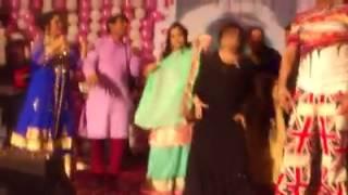 Bangadeshi Models Dance at Birthday Party
