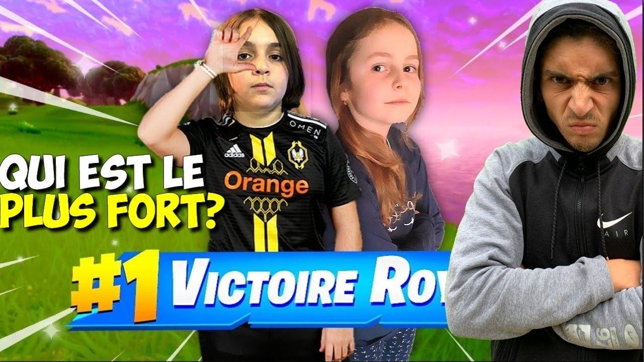 FORTNITE TOURNOI TRIO ARÈNE AVEC LES PLUS FORT DE LA FMG !