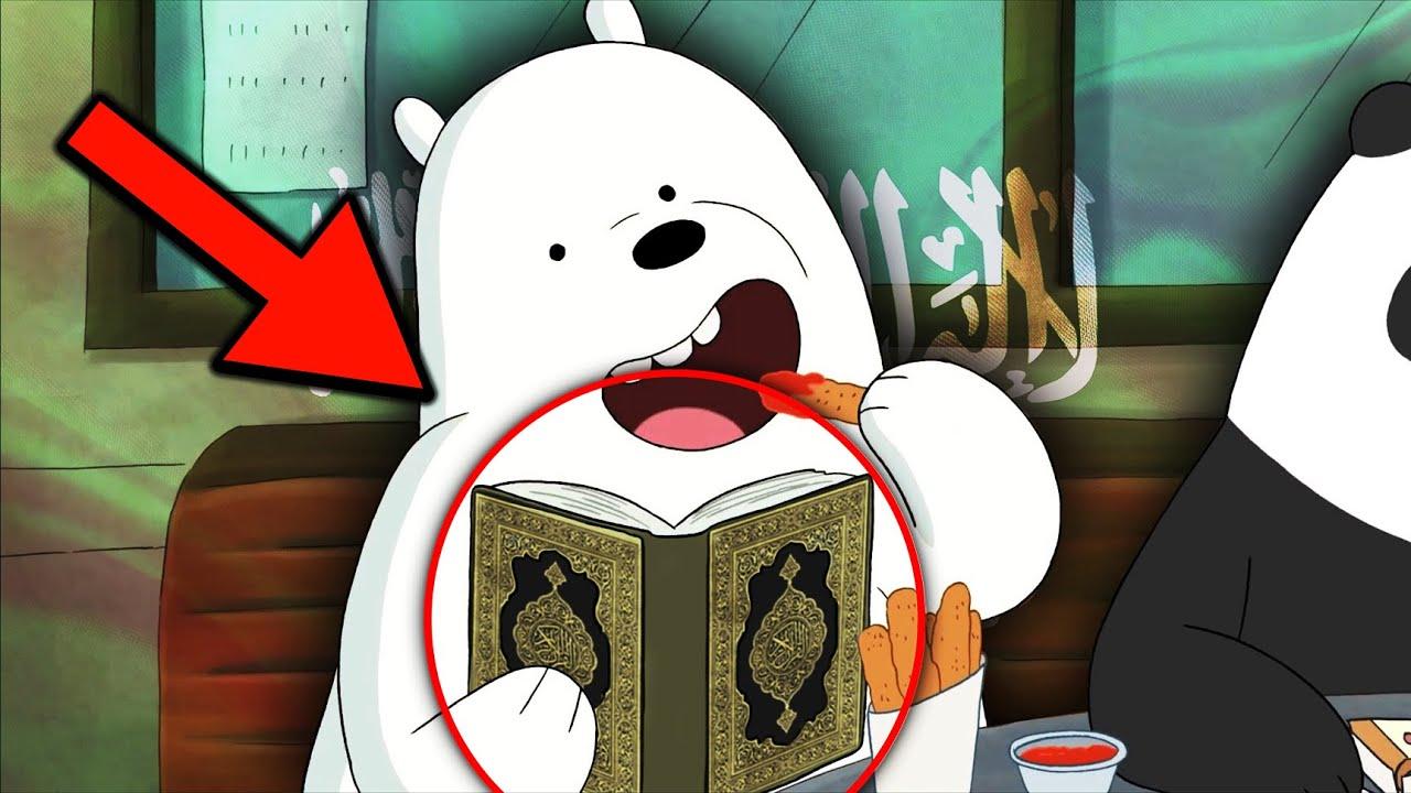 اشارات و رموز مسيئة للاسلام في الكرتون ! ج6
