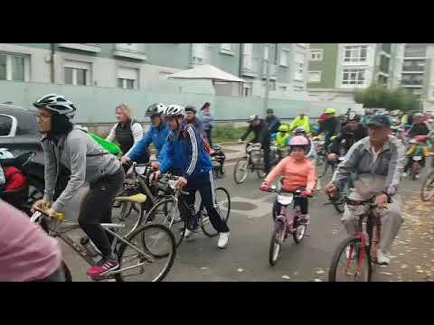 Sarria goza do seu Día da Bici