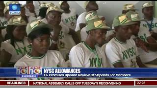 NYSC Allowances: FG Promises Upward Review Of Stipends For Members
