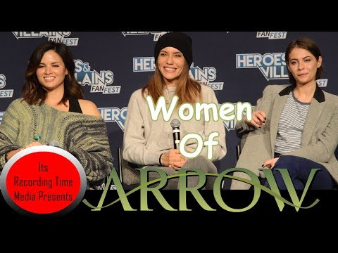 Heroes & Villains  Fest San Jose 2017: Women of Arrow Panel
