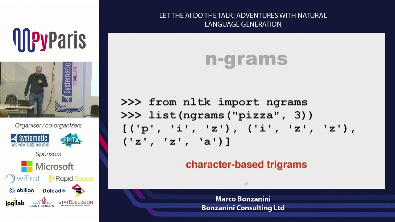 Image from Let the AI Do the Talk: Adventures with Natural Language Generation