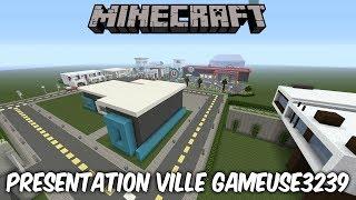 MINECRAFT | Présentation Ville De Gameuse3239 [PS4 FR]