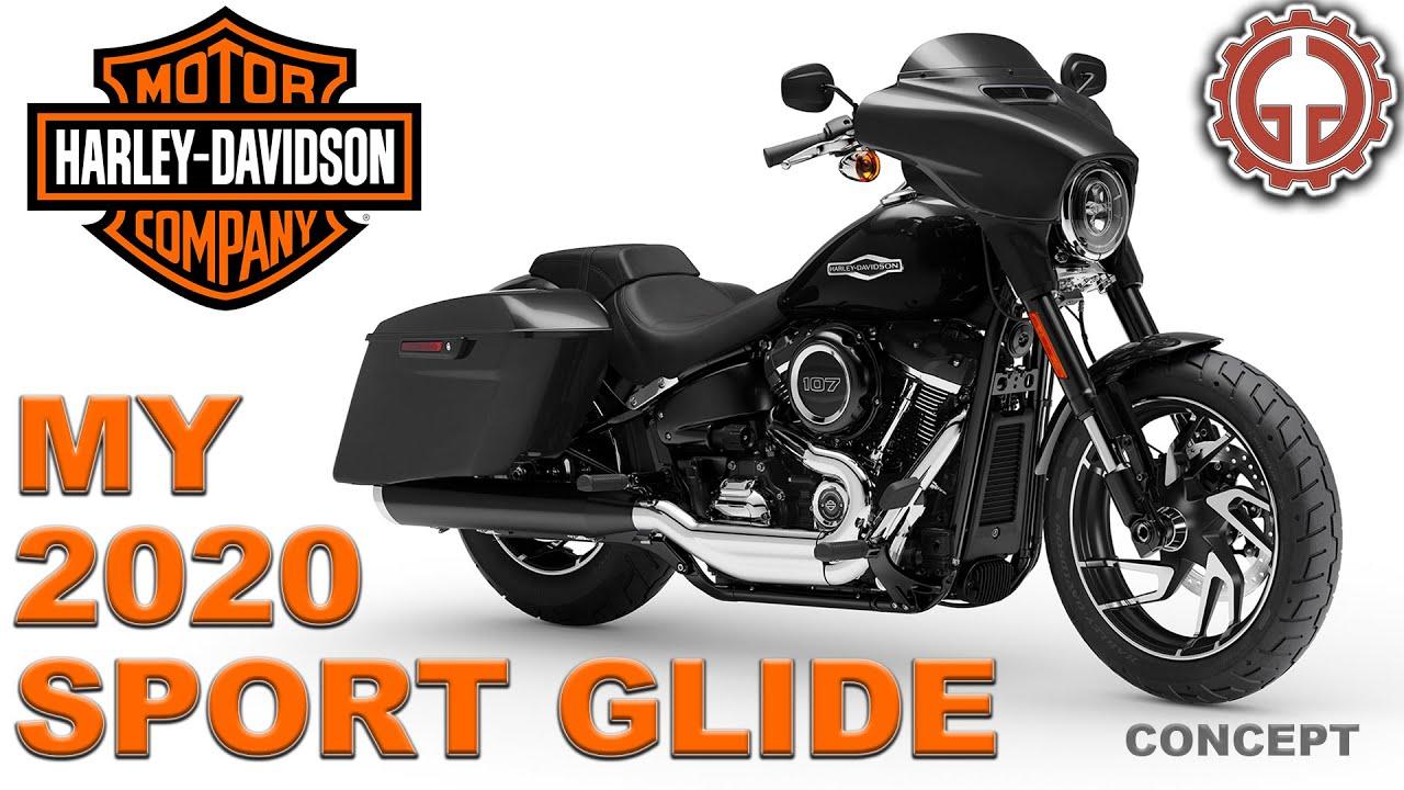 MY 2020 Harley-Davidson Sport Glide Concept