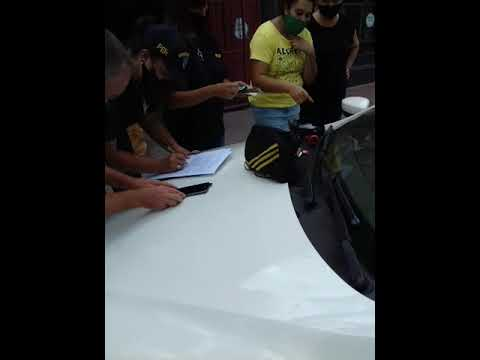 Dos personas fueron detenidas este viernes en Paraná por que transportaba estupefacientes 04