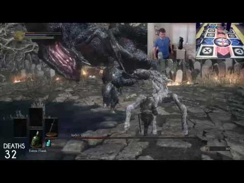 Some guy has beaten Dark Souls 3's first boss using a dance pad